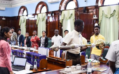 Youth Parliamentarians prep for debates tomorrow