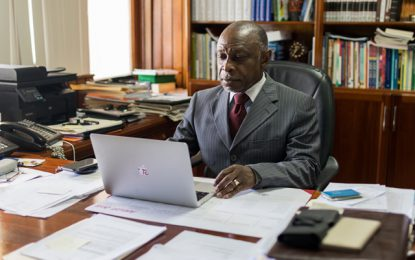 Min. Greenidge rubbishes social commentary that Guyana is being used by US in war plot against Venezuela