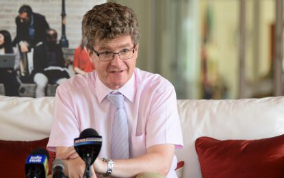 "UK getting ""value for money"" in SOCU's operation – British High Commissioner"
