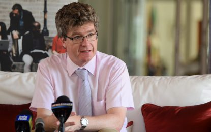 Govt on track with preparation for first oil – British High Commissioner