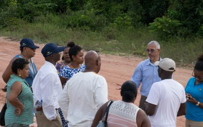 Business Minister meets with Kwakwani residents