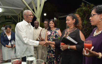 President Granger lauds the noble profession of nursing