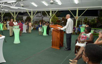 President Granger hosts reception in honour of Nurses' Association's 90th anniversary