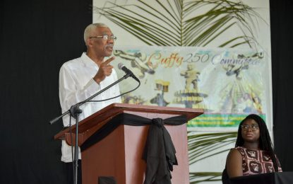 'Guyanese must disassociate themselves from denialism'