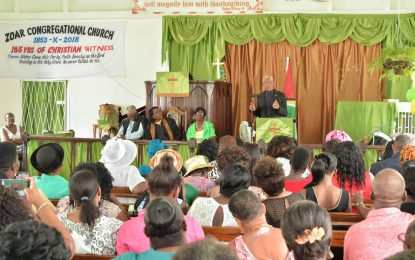 'The Church has a role in re-igniting, reintegrating, reinventing and re-engaging villages' – President Granger