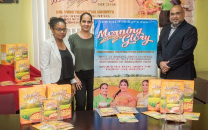 ANSA McAL, IAST officially launch Morning Glory rice cereal