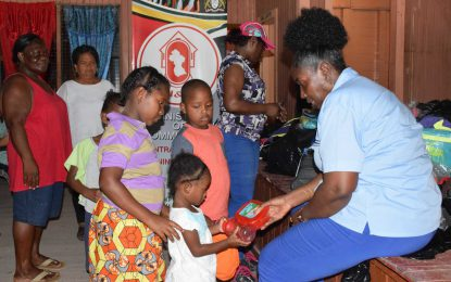 Kwakwani and Ituni students receive school supplies