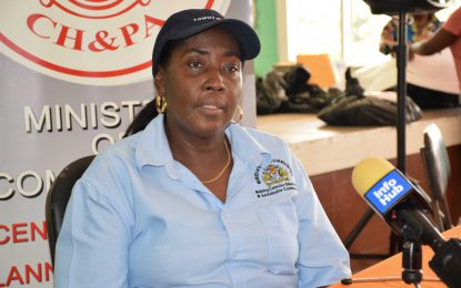 Scores of Ituni residents receive house lot allocation