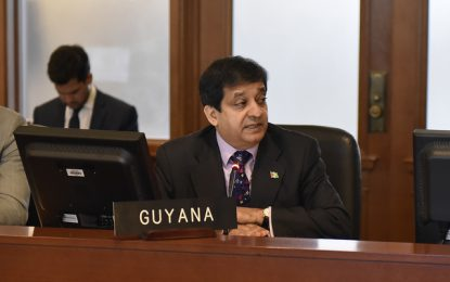 Guyana participates in OAS special meeting to commemorate the first inter-american week for indigenous peoples of the Americas