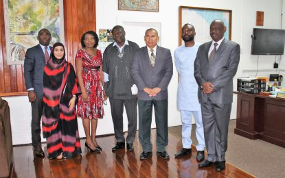 African Union Commission pays courtesy call on Social Cohesion Minister