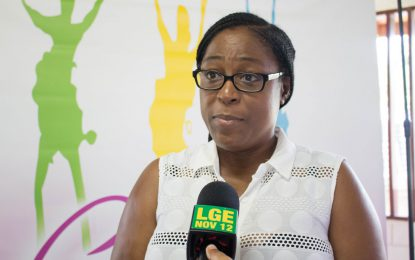 Girls in Linden engaged in Empowerment Camp