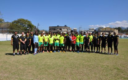 Guyana Embassy to Brazil Supports Golden Jaguars Train & Play Camp in Rio