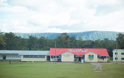 New secondary school at Kamarang to ease overcrowding of Desery Fox Secondary