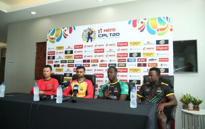 CPL giants – Warriors, Patriots ready for clash tomorrow