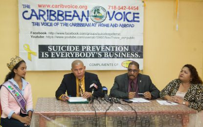 Anti-Suicide/Anti-Violence Campaign launched