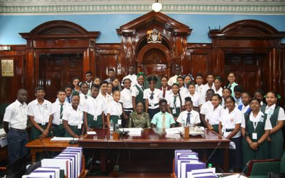Govt declared winners at first sitting of 4th Youth Parliament