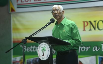"""Coalition Govt will not be intoxicated by oil"" – President Granger"