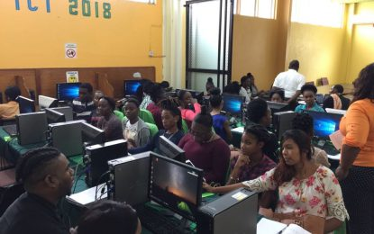 Linden youths flock community NGO for ICT training