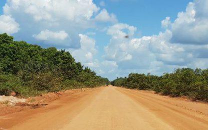 Interior roads much improved