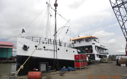 On this day in 2017… M.V Lady Northcote sets sail once again