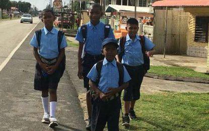 Schools re-open