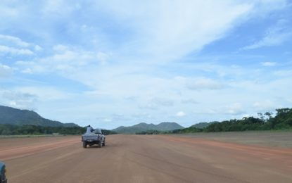 Upgrades to Bemichi, Chi Chi airstrips to commence shortly