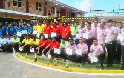 97 graduate from Board of Industrial Training in Berbice