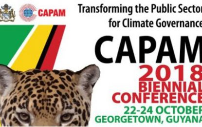 CAPAM 12th Biennial Conference will focus on climate change