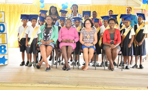 First Lady's YDI sees improved literacy and numeracy skills at Lusignan Primary