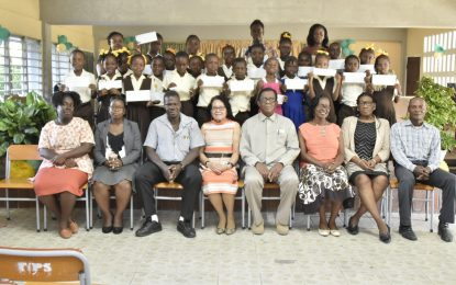 Parents laud First Lady's Youth Development Initiative