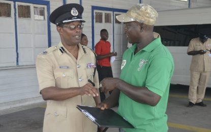 Berbice Divisional Top Cop on the move