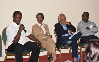 Private sector, civil society encouraged to join discussions on oil and gas, national strategies