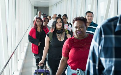 High praises as CJIA's new arrivals terminal becomes operational