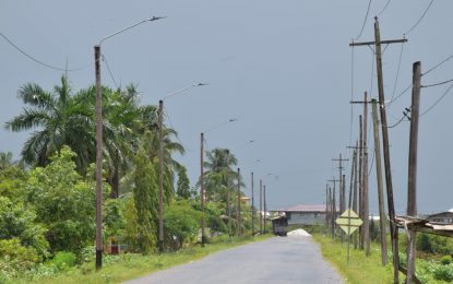East Bank Berbice road project set for year-end completion