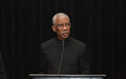 AddressofHis Excellency Brigadier David Granger, President of the Cooperative Republic of Guyanaat theGuyana Trade and Investment Exhibition