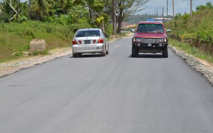 Emergency works undertaken on Wisroc road