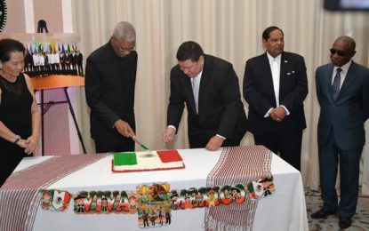 Mexico-Guyana diplomatic ties continue to strengthen