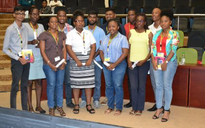 Youth Conference culminates with presentation of scholarships