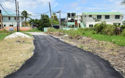 Critical streets in Stevedore under repair