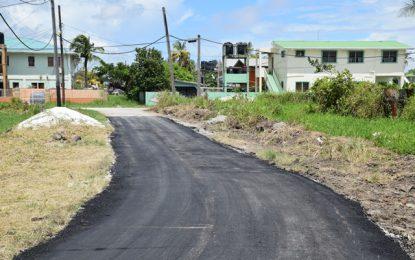 Critical streets in Stevedore under repair