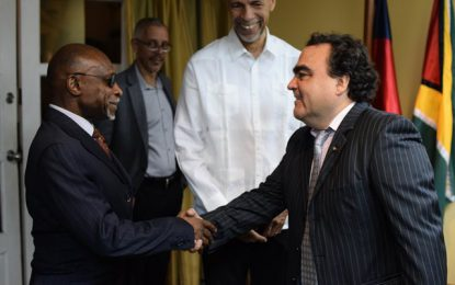 Guyana bids farewell to its first Chilean Ambassador