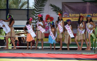 Karrau Village observes first Heritage Day celebration