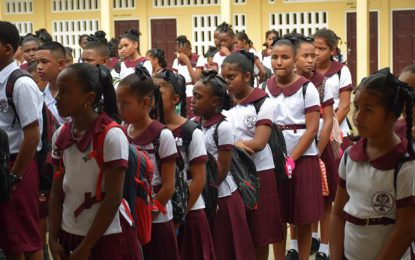 Region Seven students all set for the new school term