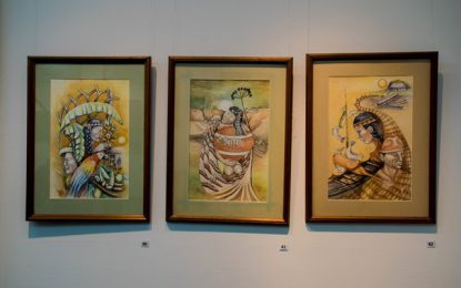 Heritage Art Exhibition showcases works of Indigenous artists