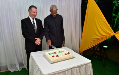 'Guyana-Brazil relations have never been stronger'  -President Granger at 196thanniversary of Brazil's independence
