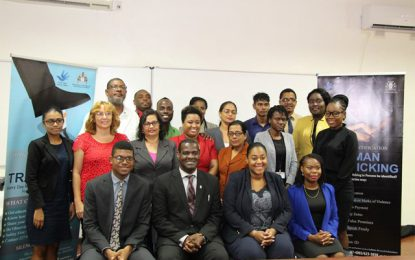 Foreign Service Officers receive TIP training