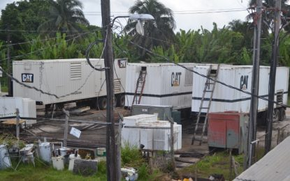 Generation shortage on Essequibo Coast will be a thing of the past – GPL CEO assures