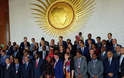 Minister and PMG represented Guyana at UPU Extraordinary Congress in Ethiopia