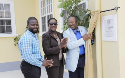 University of Guyana commissions new $26M building for Facilities and Maintenance Division