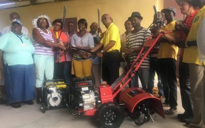 16 Region Six farming groups benefit from equipment